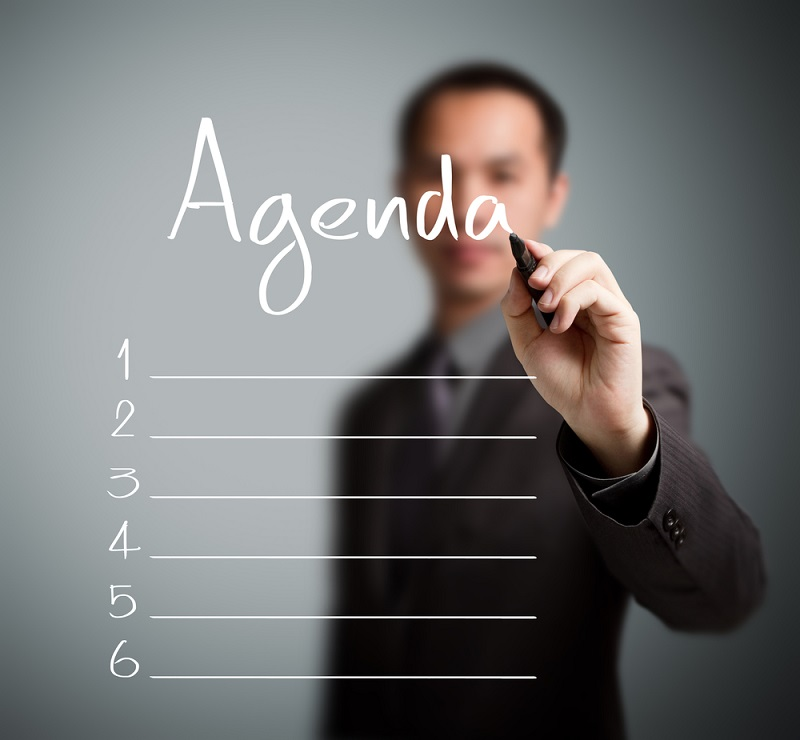 Blog 199 - Use this 6-point agenda for meeting success within your business